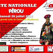 fiesta nacional del peru en Lausanne