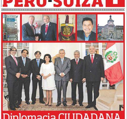 Amistad y colaboración Perú-Suiza - El Peruano