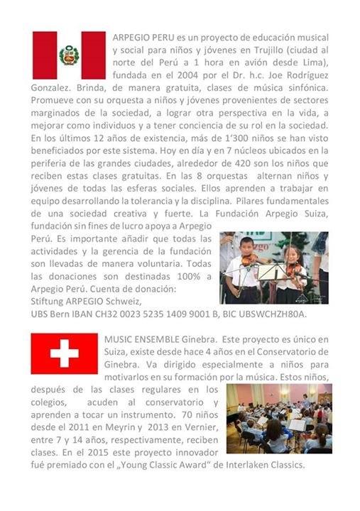 ARPEGIO PERU en concierto 2