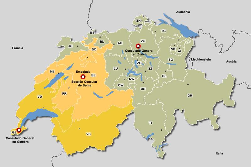Consulados en Suiza