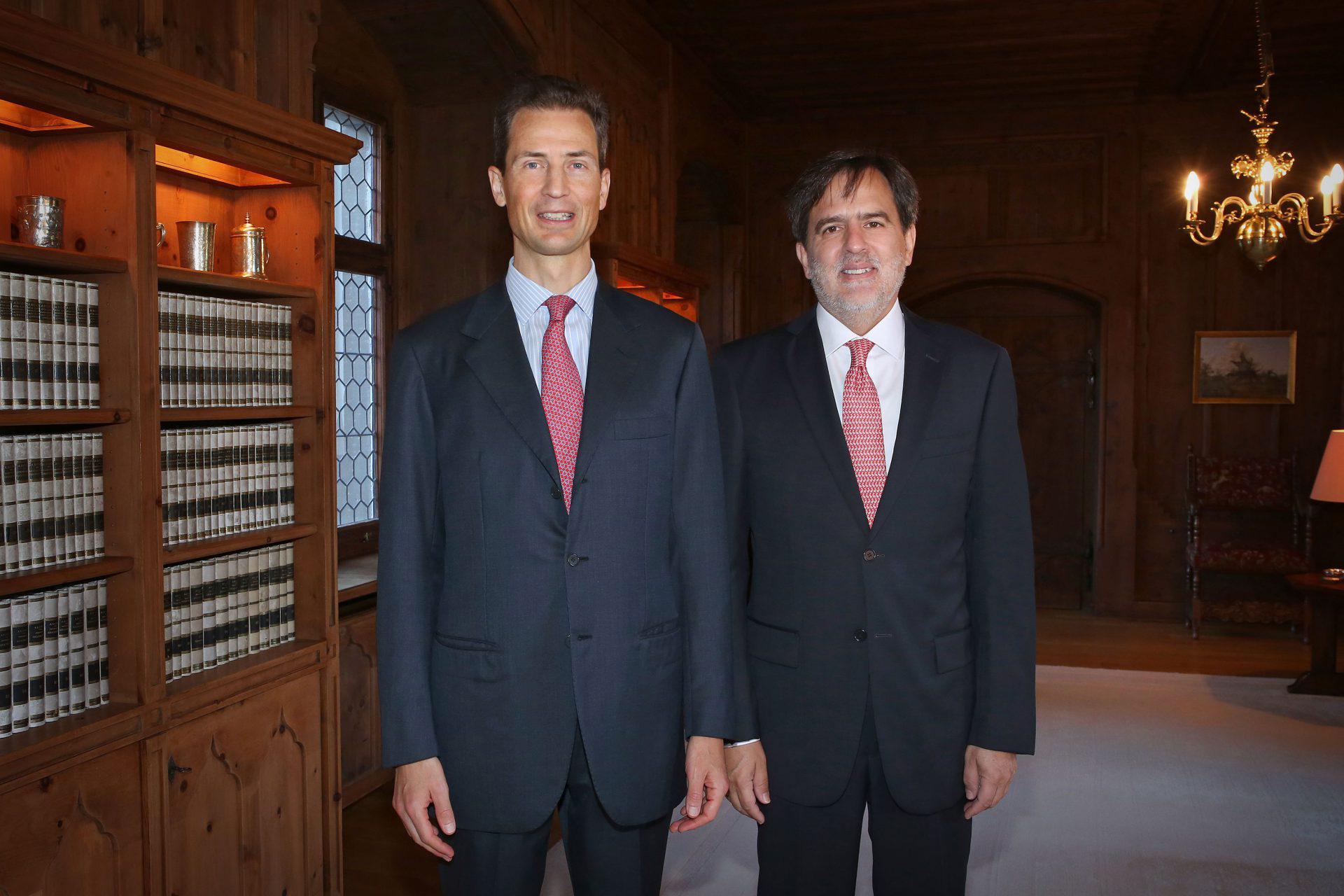 Presentación cartas credenciales en Vaduz