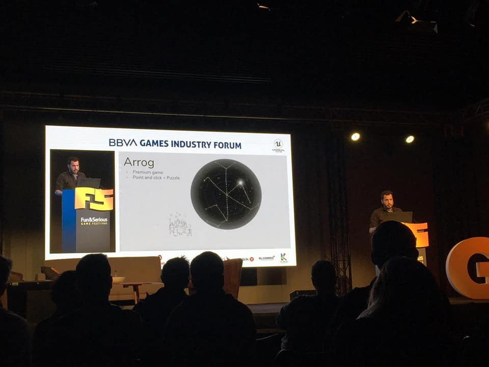 Mateo Alayza en presentación de Arrog. (Foto: Gabriel Alayza)